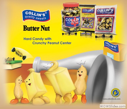 COLLINS BUTTER NUT