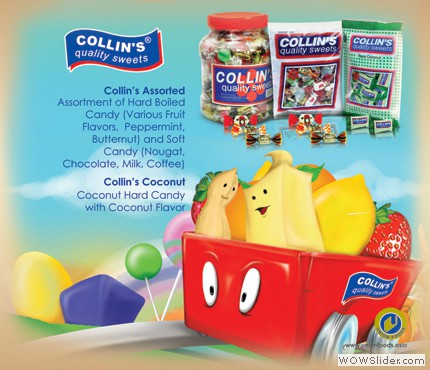 COLLINS SWEETS